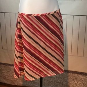 OLD NAVY COLLECTION STRIPPED SKIRT SIZE 6